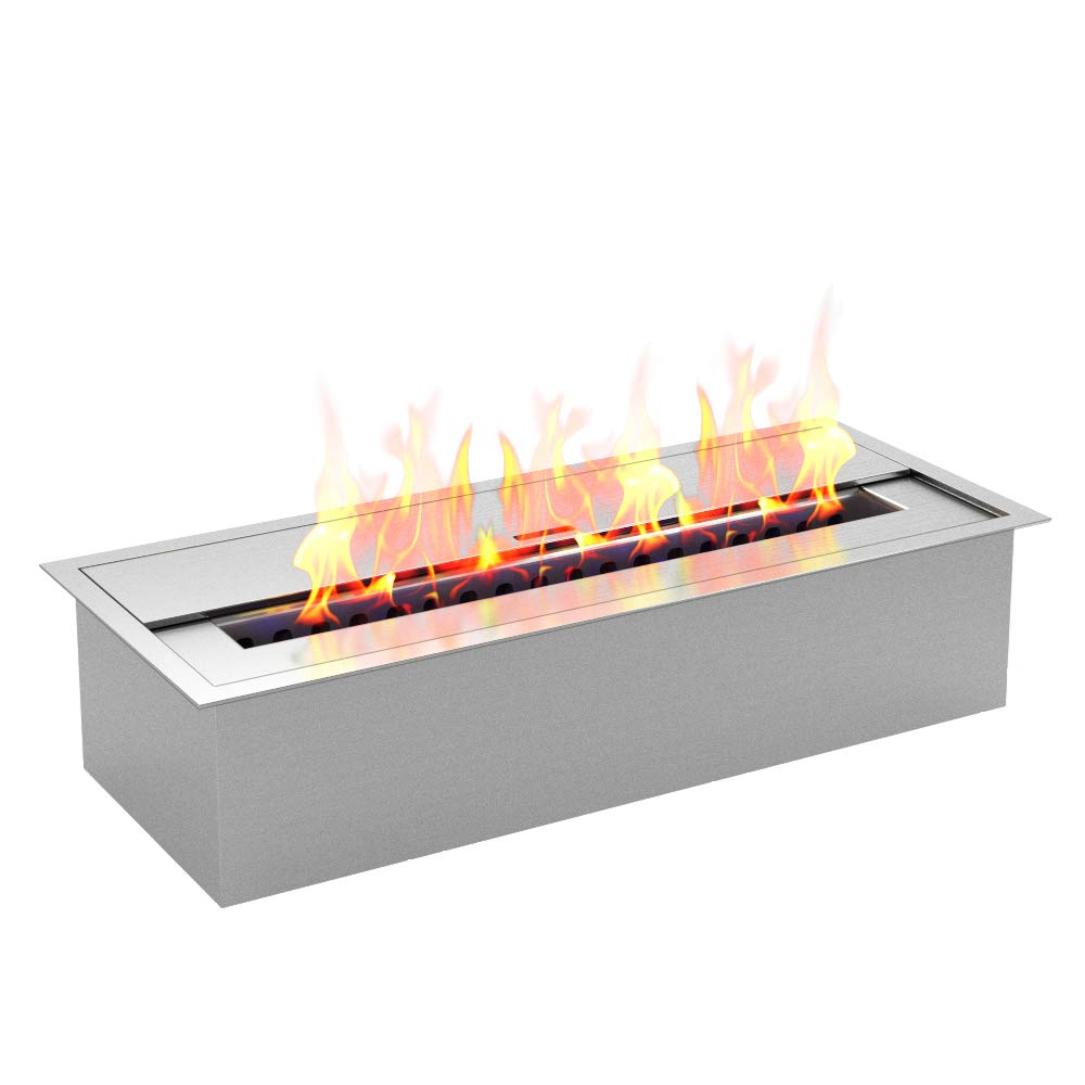 Regal Flame PRO 12 Inch Bio-Ethanol Fireplace Burner Insert 1.5 Liter by Regal Flame