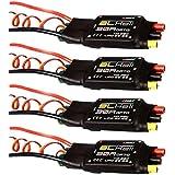 XSD MOEDL 4x Emax RC Multirotor Blheli Firmware 30A OPTO Electronic Speed Controller ESC