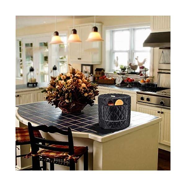 6QT/8QT Electric Pressure Cookers Decorative Pocket Electric Pressure Pot Dust Cover Small Kitchen Appliances… 4