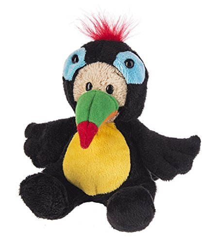 G Ganz Kids Wee Bears Plush Teddy Toy 6 inches - Toucan from Ganz