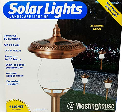 Westinghouse Copper Solar Lights in US - 5