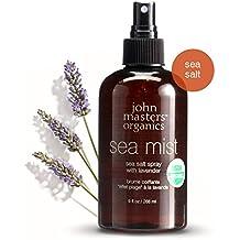 John Masters Organics - Sea Mist Sea Salt Spray with Lavender - USDA Certified Organic All Natural, Nourishing Texturizer & Voluminizer for Beach Hair Look - 9 oz