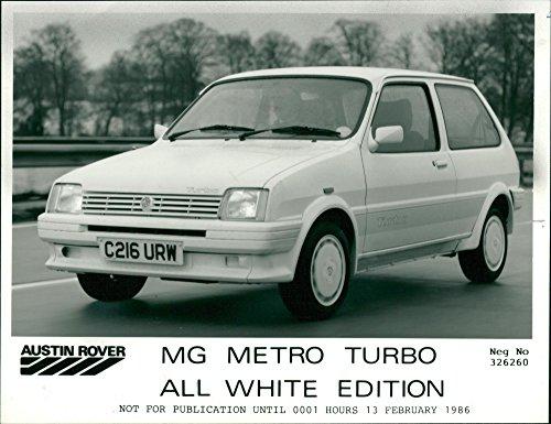 - Vintage photo of metro turbo.