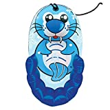 33 Kiddie Snow SEAL Character Pull Sled by Aqua Leisure
