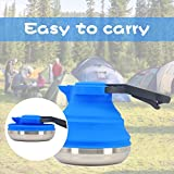 Collapsible Camping Kettle For Hiking, Travel