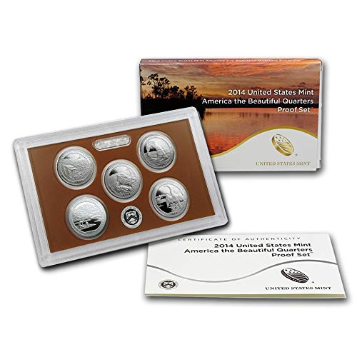 2014 S UNITED STATES MINT 50 STATE QUARTERS PROOF SET Uncirculated ()