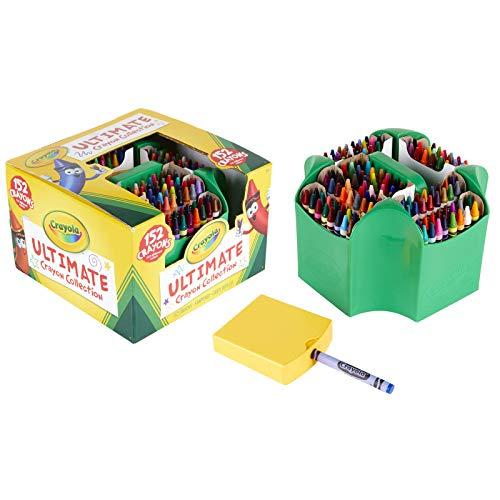 ערכת 152 צבעי Crayola כולל סטנד ומחדד