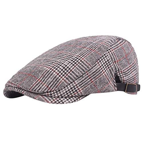 Palarn Newsboy Caps Bomber Cowboy Hats Berets Men Women Peak Blinder Hat Baker Boy Hat Cap Peak Newsboy Herringbone Flat Cap