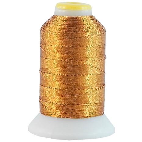 Metallic Thread - No. L65 - Bright Green - 500m - Threadart
