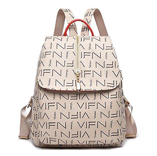 sac de PU dos de Sac cuir multifonctionnel 26 sac en 13 souple main mode à décontracté à femmes 32cm p7q4E