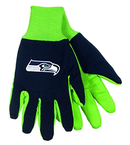 Embroidered Golf Windbreaker (NFL Seattle Seahawks Sport Utility Gloves Navy Blue &)