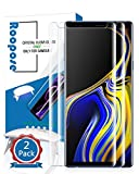 Roopose Galaxy Note 9 Screen Protector Tempered Glass,3D Curved Full Coverage Liquid Dispersion Tech Adhesive Repair Function Easy Install Kit for Samsung Galaxy Note 9 (2018) -2 Pack