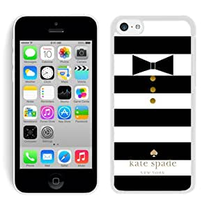 Most Popular Custom iPhone 5C Case Kate Spade New York Hard Plastic Phone Case For iPhone 5c Cover Case 36 White
