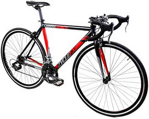 Zycle Fix Carrera 350 Road Matte Black with Red