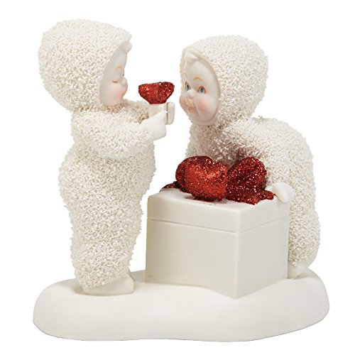 Department 56 Snowbabies Classics Is That for Me Too Figurine, 4.25 inch