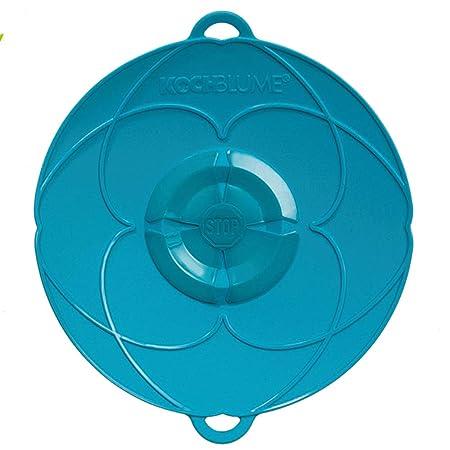 Kochblume Tapa Flor XS, Silicona, Turquesa, 22 cm: Amazon.es: Hogar