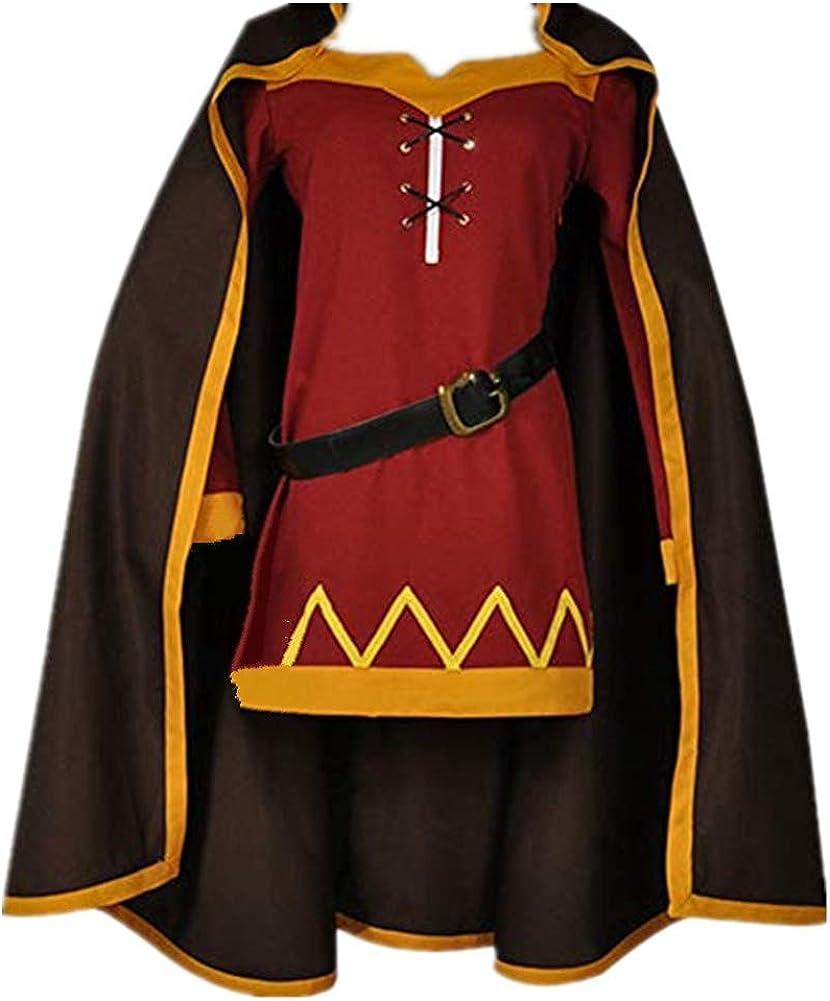 Details about  /KonoSuba God's Blessing On This Wonderful World Megumin Full Set Cosplay Costume