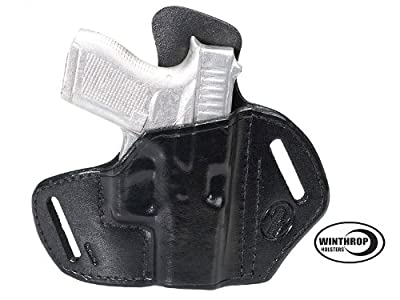 Glock 42 NO Laser OWB Shield Holster R/H Black 0704