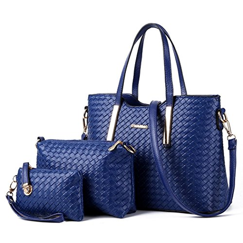 Ryse Womens Fashionable Classic Exquisite Metal Buckle Handbag Shoulder Bag Three - Designer Mcqueen Lee
