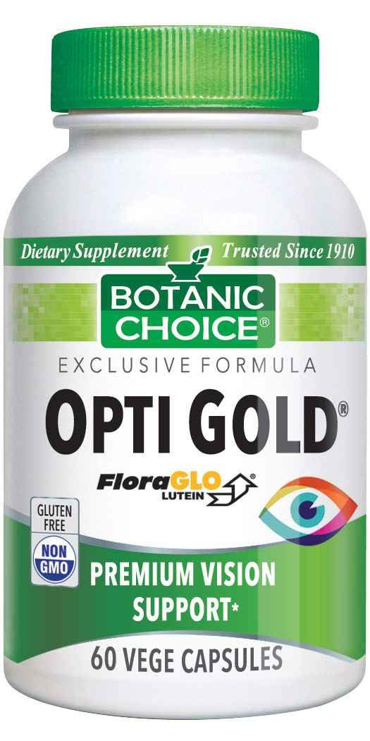 Opti Gold Vision Formula with FloraGLO Lutein, 60 Capsules