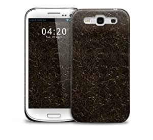 Marble Black Samsung Galaxy S3 GS3 protective phone case