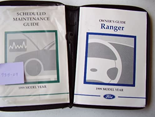 1999 ford ranger owners manual auto manual amazon com books rh amazon com 1999 ford ranger 3.0 owner's manual 1999 ford ranger user manual