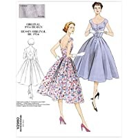 Vogue 2960 - Patrón de Costura para Vestido