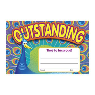 Outstanding Peacock Award [Set of 3]