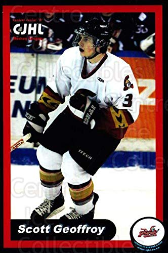 ((CI) Scott Geoffroy Hockey Card 2004-05 Ottawa Jr. Senators Team Issue 9 Scott Geoffroy)