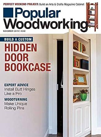 Amazon Com Popular Woodworking Magazine F W Media Kindle