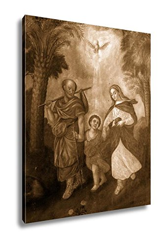 Ashley Canvas Holy Family, Wall Art Home Decor, Ready to Hang, Sepia, 20x16, AG5494543 by Ashley Canvas
