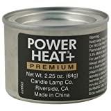 Candle Lamp Company PH0005, Powerheat Fuel Chafer, Case Of 144 (06-0381) Category: Canned Heat