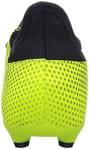 Scarpa Da Calcio Adidas Boys X 17.3 Fg J, Nero / Rosso Solare / Arancione Solare, 12 Medio Noi Bimbo Piccolo Giallo Solare / Leggenda Inchiostro / Legenda Inchiostro