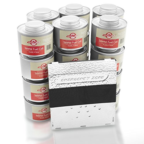 Emergency Zone Emergency Cooking Fuel Storage Set with St...