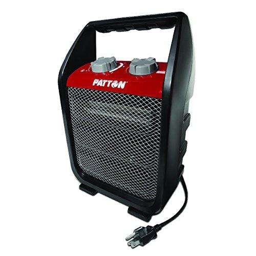 Patton PUH4842-CN Power Utility Heater, Black