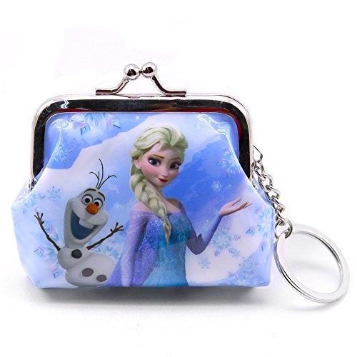Chaveiro Porta Moeda Elsa & Olaf Frozen - Disney