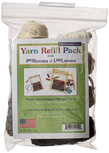 Harrisville Designs pegLoom & LapLoom Yarn Refill Pack - Neutral by Premier