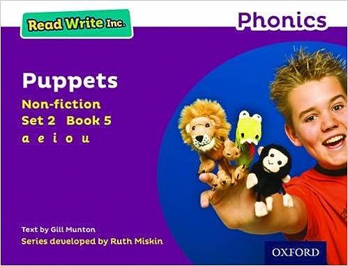 Read Write Inc. Phonics: Purple Set 2 Non-fiction 5 Puppets