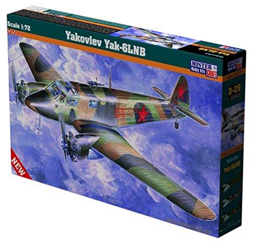 MisterCraft MCD29 1:172 Yakovlev Yak-6 LNB, Scale