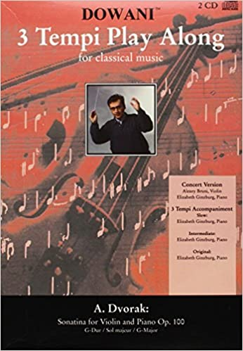 100 in G-major Sonatina for Violin and Piano Op Dvorak Booklet//2-CD Pack