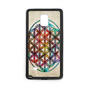 DDOUGS I flower of life Customized Cell Phone Case for Samsung Galaxy Note 4, Personalised I flower of life Case
