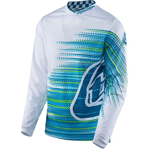 2017 Troy Lee Designs GP Air Electro Jersey-L (Lee Fabrics)