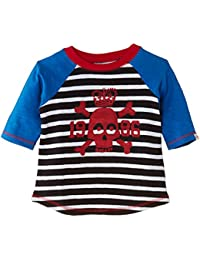 Little Boys Boys Raglan Tee Skull