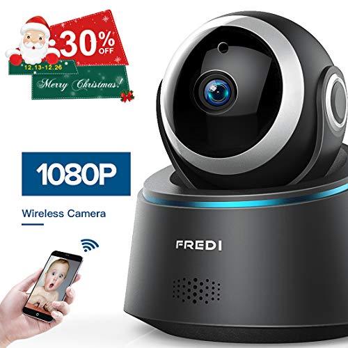 Cheap FREDI 1080p Wireless Camera HD WiFi IP Camera for Baby/Elder/Pet/Nanny Monitor, Pan/Tilt, Two-Way Audio & Night Vision(Update Version)