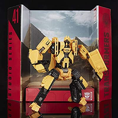 Transformers Toys Studio Series 41 Deluxe Class Revenge of The Fallen Movie Constructicon Scrapmetal Action Figure - Ages 8 and Up, 4.5-inch: Toys & Games