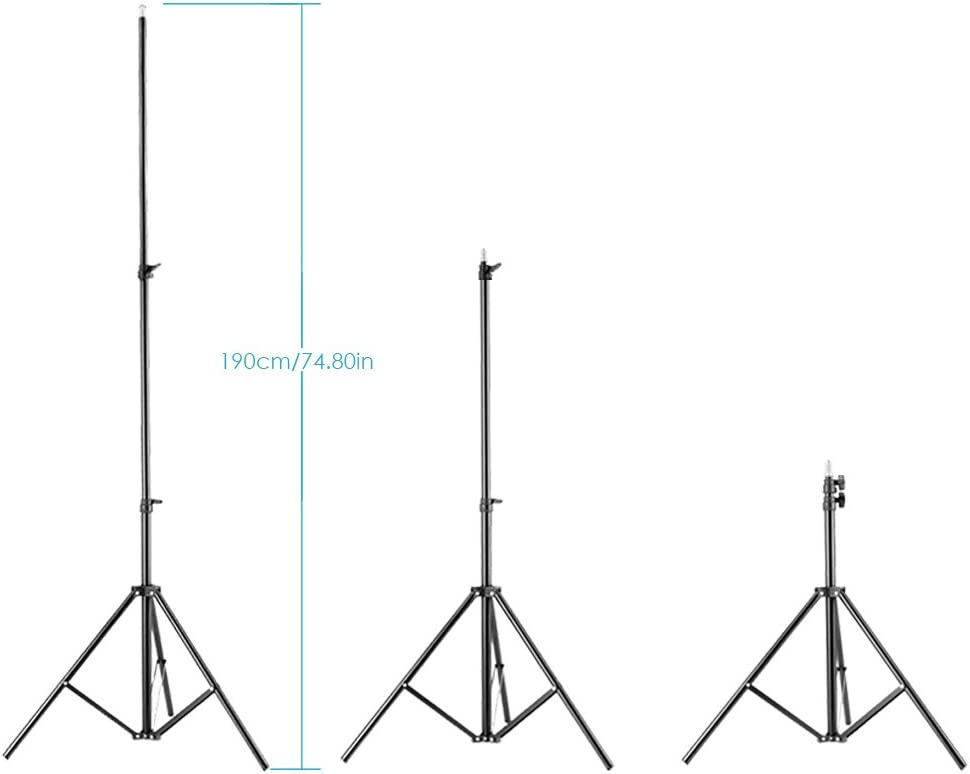 Neewer Photo Studio Heavy Duty Metal Clamp Holder with 5//8 Light Stand Attachment for Reflector