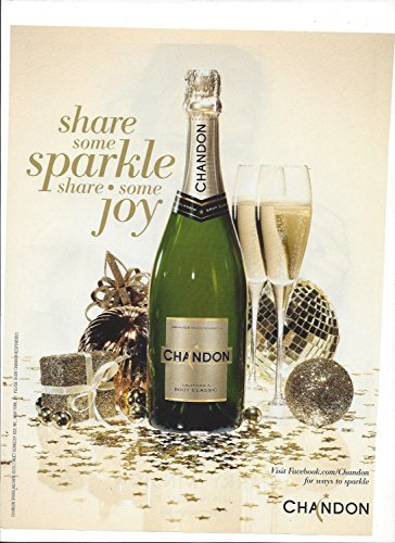 **PRINT AD** For 2012 Chandon Brut Classic Share Some Sparkle **PRINT - Brut Chandon