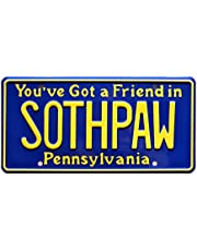 Rocky IV | SOTHPAW | Metal Stamped License Plate