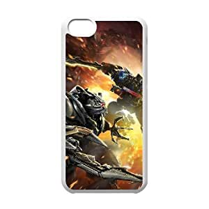 C-EUR Print Transformers Pattern Hard Case for iPhone 5C