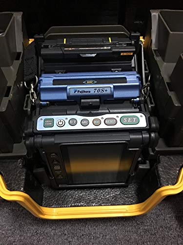 Fujikura New Model FSM-70S+ Fusion Splicer Welding Splicer with Bluetooth, CT-50 Cleaver and Other Standard Accessories Multi Language